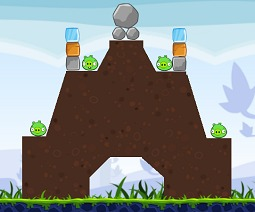 Angry Birds pig house