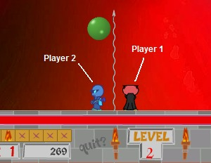 Bubble Trouble - 2 Player mode