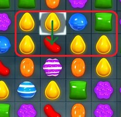 Candy Crush - Four in a Row