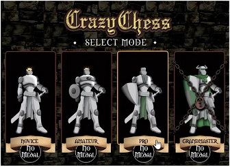 crazy chess select mode