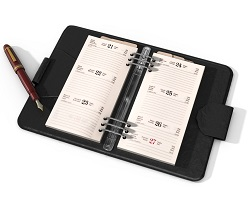 Day planner and calendar