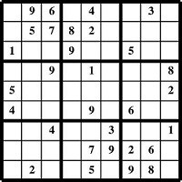 graphic about Medium Sudoku Printable called 100 No cost Printable Sudoku Puzzles