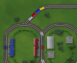 train game online