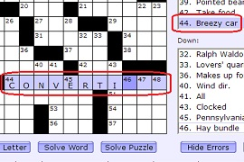 Free Daily Crossword Puzzle Play Online Free Now