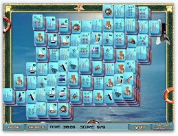Free Mahjong Solitaire - Marine Solitaire Game