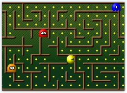 Free Pacman Online Math Game