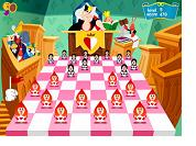 Alice in Wonderland Checkers