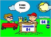 lemonade stand math game