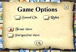 Mahjong Alchemy options window