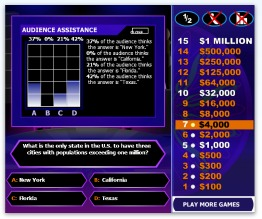 Who Wants To Be A Millionaire Game Online
