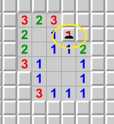 Minesweeper flag