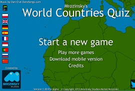Online geography game