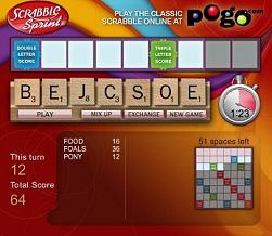 Scrabble Sprint Free >> Play Scrabble Online free - Scrabble Sprint game