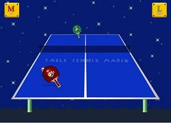 Play Mario Game - Table Tennis Mario