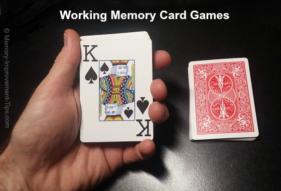 working memory card games