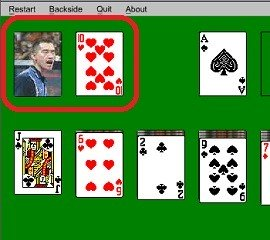 solitaire stock pile