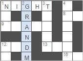 daily printable crossword puzzle