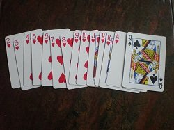 Hearts penalty cards