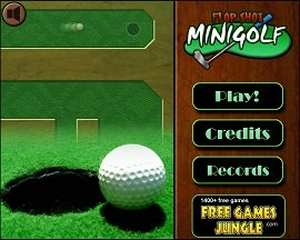 minigolf flash game