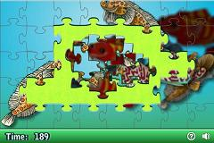 On-Line Jigsaw Puzzle - Edges complete