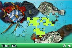 Tropical Fish on-line jigsaw puzzles