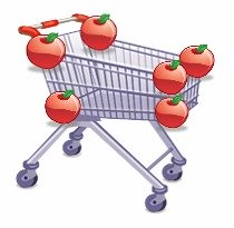 6 Red Apples - First Item on the List
