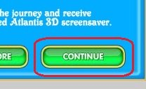 Click the CONTINUE button to access the next game screen